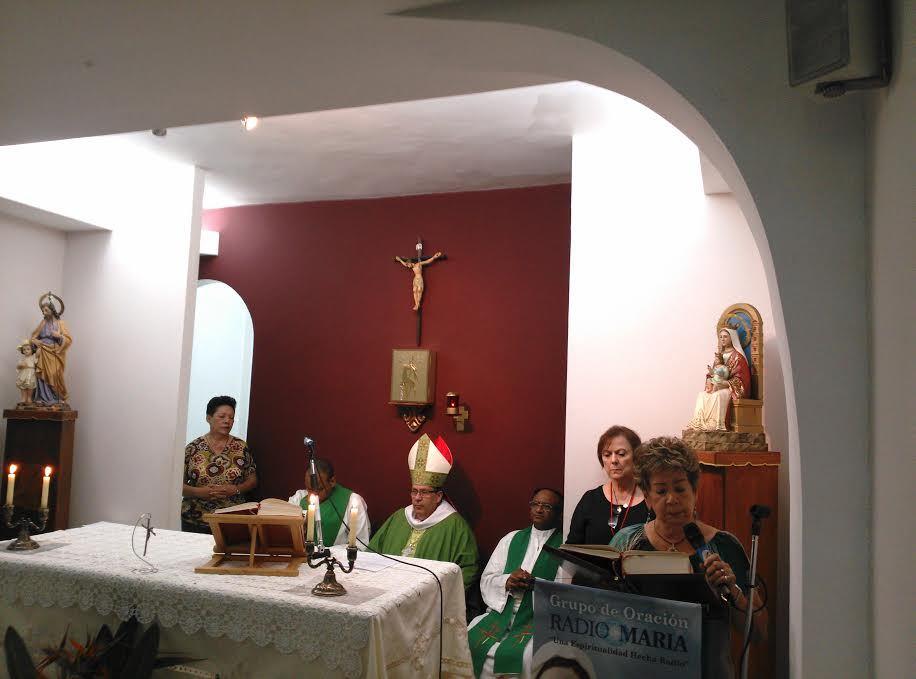 Misa con el Padre Thomas
